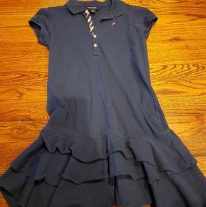 Ralph lauren girls medium blue dress